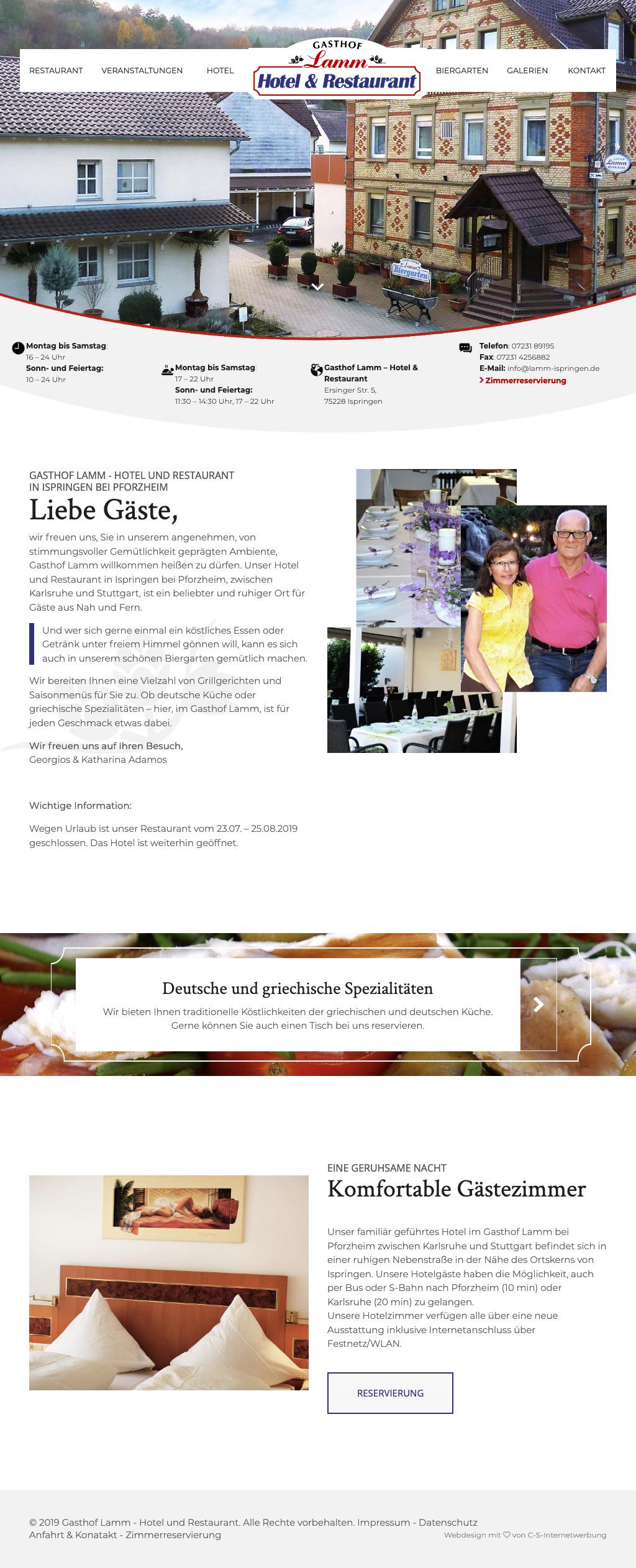 Gasthof und Hotel Tablet-Anischt