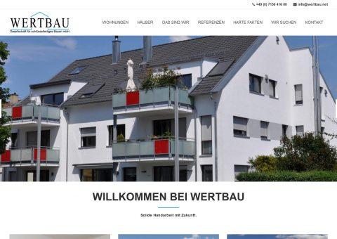 Makler-Wohnbaugesellschaft Webdesign - Desktop