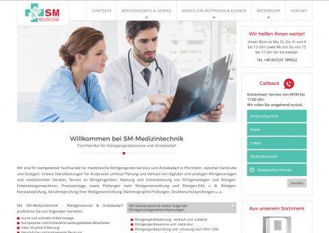 Webdesign Medizintechnik